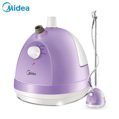 美的(Midea)1.5L單桿蒸汽掛燙機家用手持掛式電熨斗 紫色 YG-JA1
