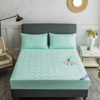 【多色多尺寸可选】VIPLIFE纯色夹棉床笠 床垫保护罩