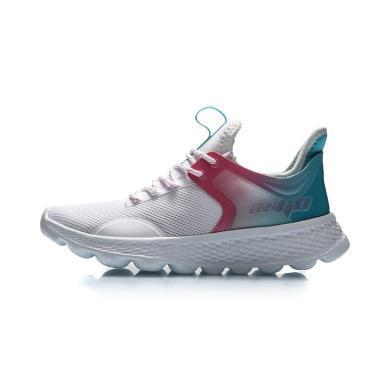 李宁跑步鞋女鞋eazgo舒适系列2020新款透气鞋子女士低帮运动鞋AREQ012