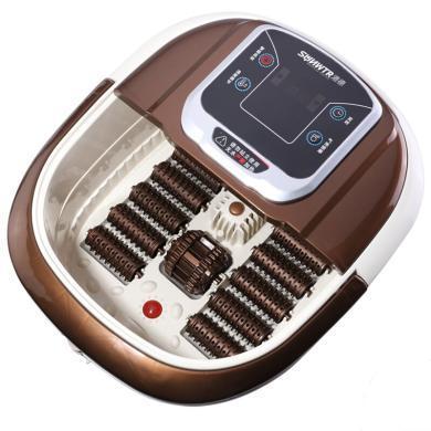 港德足浴盆 泡腳器自助按摩洗腳盆電動加熱泡腳桶家用恒溫足療機按摩器