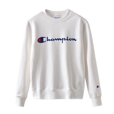 【支持购物卡】Champion正品冠军大logo圆领?#20449;?#21516;款长袖经典卫衣加绒款