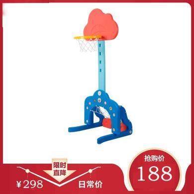 贝恩施儿童篮球框投篮架篮球架可升降宝宝室内家用男孩玩具2-3岁
