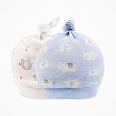 丑丑婴幼 男女宝宝卡通可爱宝宝胎帽 新款婴幼儿四季纯棉胎帽 COA505X