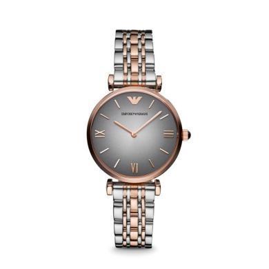 【支持購物卡】Armani阿瑪尼手表女 商務時尚簡約鋼帶石英女表AR1725