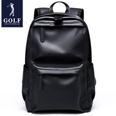 GOLF/高爾夫雙肩包男休閑背包大容量旅行包學生書包時尚潮流背包 D8GF33846T
