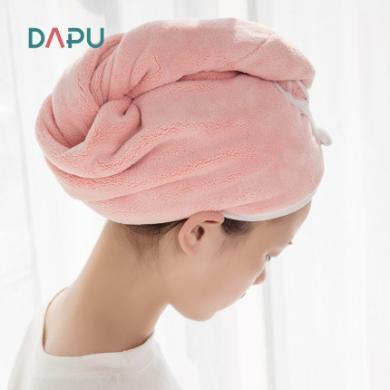 大樸A類浴帽女防水洗澡干發帽加厚強吸水透氣速干吸水擦頭發毛巾 預售 28號左右發貨