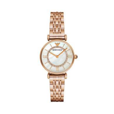 【支持購物卡】阿瑪尼 (ARMANI)手表 女時尚女士手表珍珠貝母女表AR1909