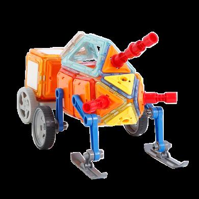 贝恩施儿童磁力片玩具 积木拼装益智小男孩女孩3-6岁磁铁幼儿早教