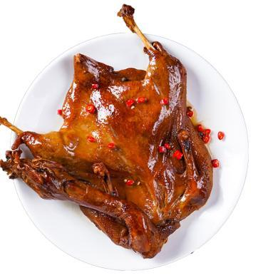 味肴臘品飄香鴨手撕整只醬板鴨烤鴨真空鴨肉開袋即食熟食小吃500g