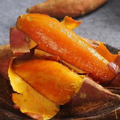 華樸上品 紅薯山東煙薯地瓜4.5-5斤裝彩箱 新鮮地瓜紅薯番薯