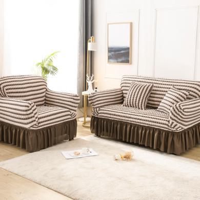 【下单减10-50元】VIPLIFE泡泡布沙发套 万能沙发套防护罩【花边沙发套系列】