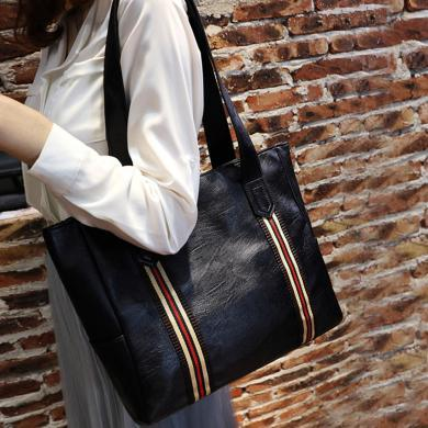 新款女包大容量手提包简约休闲单肩包斜挎女包女士手拎包N769