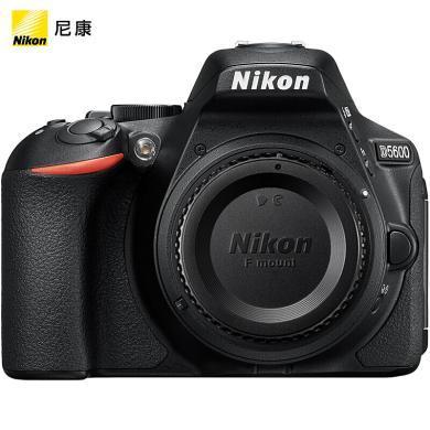 尼康(Nikon)D5600 單反機身 數碼相機 (輕巧便攜 WiFi連接 可翻轉觸摸屏)