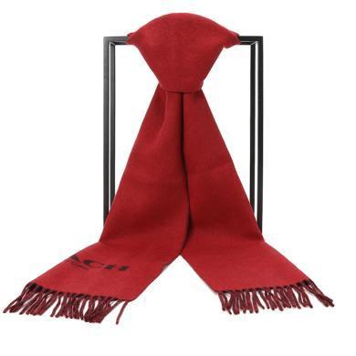 [支持购物卡]COACH/蔻驰 双面羊绒围巾 F56209