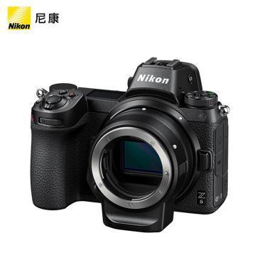 尼康(Nikon)Z6 微單機身 數碼相機 微單機身 (273點自動對焦 連拍12幅/秒)Vlog相機 視頻拍攝