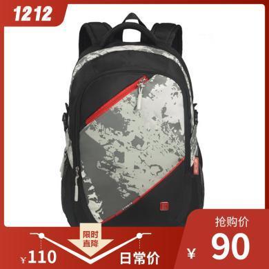 孔子書包休閑系列 中學生書包 初高中生雙肩背包A306