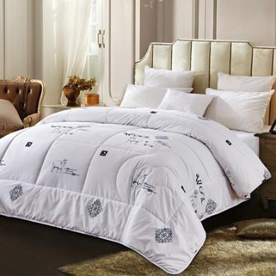 羅曼羅蘭 羅曼庭至尊羊毛被 100%純進口羊毛1.5床適用 200*230cm白色