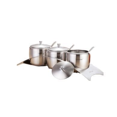 慕廚調味罐三件套(小)LG-T03