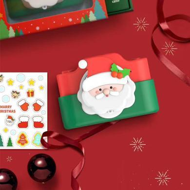 CIAXY 圣诞限量版双摄像头可打印WiFi连接儿童相机玩具圣诞节礼物