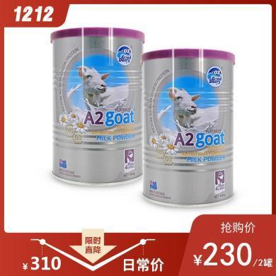 澳洲OZ Gooddairy澳樂乳營養強化山羊奶粉 400克/罐(2罐裝)