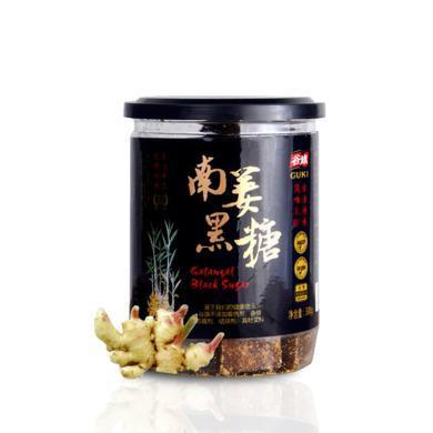 谷旗臺灣南姜黑糖姜母茶進口紅糖*300g單罐裝