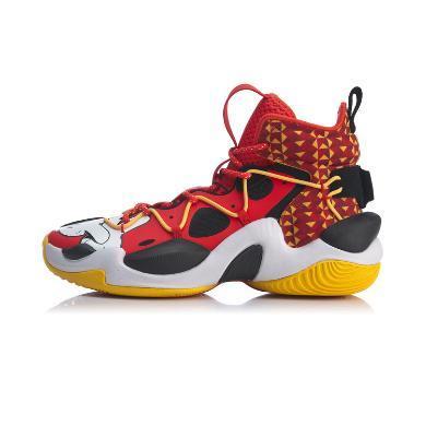李宁篮球鞋男鞋2020新款空袭VI Premium减震回弹鞋子高帮运动鞋ABAQ011