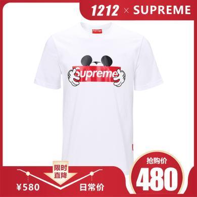 [支持购物卡]SUPREME 男女通用款时尚T-SHIRT MICKY T恤  Italy