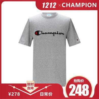 [支持购物卡] CHAMPION/冠军 男装短袖T恤  T1919G