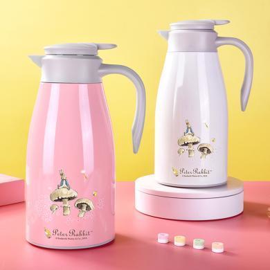 比得兔不銹鋼保溫壺家用熱水壺開水瓶便攜大容量保溫瓶
