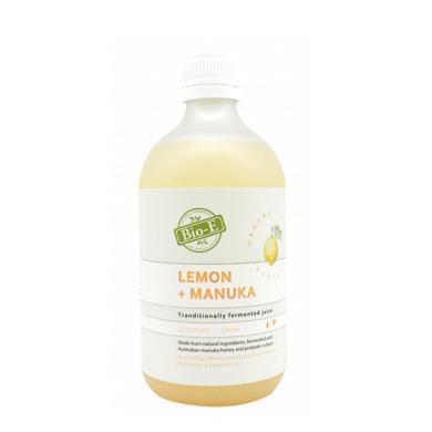 【支持購物卡】澳洲 BIO-E 天然檸檬麥盧卡蜂蜜益生菌酵素飲料美白祛黃 500ml/瓶