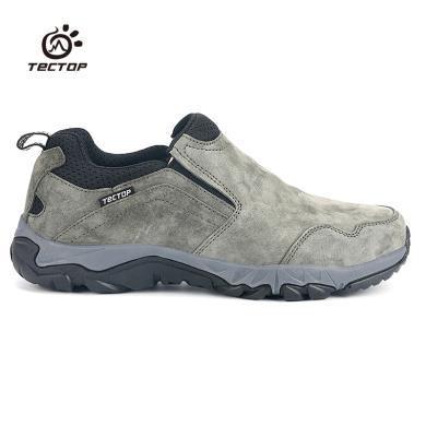TECTOP/探拓超密布耐磨防滑橡膠保暖加棉戶外輕便休閑男鞋
