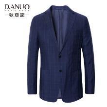 D.Anuo/狄亞諾西服男 時尚商務英倫格紋便西西裝外套2019春裝新款1031907