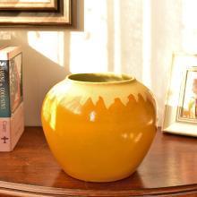 墨菲现代简约陶瓷花瓶水培鲜花插花器新中式干花仿真花艺装饰摆件