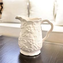 墨菲北歐式簡約現代創意冰裂釉陶瓷花瓶客廳餐桌插花家居裝飾擺件