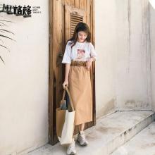 七格格法式小众两件套?#36141;?#20185;女夏装2019新款韩版御姐套装洋气时尚