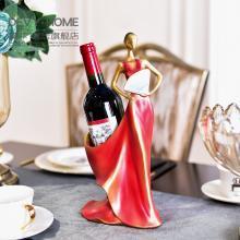 DEVY 美式创意餐厅红酒架摆件创意电视柜酒柜茶几餐桌装饰品摆设
