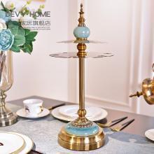 DEVY 欧式古典轻奢红酒杯架家用餐厅红酒架酒柜摆件创意高脚杯架