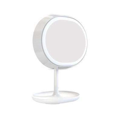 JR-CY266倾颜智能补光化妆镜台灯一体换多功能USB触摸充电氛围灯