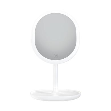 JR-CY268 LED化妝鏡5倍放大鏡180°旋轉USB充電內置1000毫安容量
