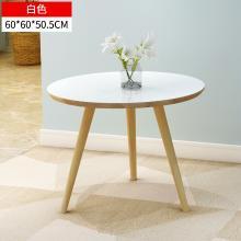 小戶型餐桌家用長方形飯桌歐式實木腿餐桌現代簡約吃飯桌子