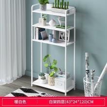 簡易書架簡約現代落地置物架學生組裝小書柜創意家用收納儲物架子