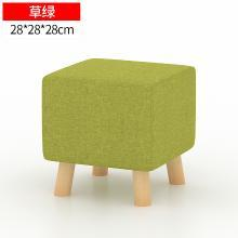 小矮凳實木客廳坐凳換鞋凳簡約創意布藝沙發凳