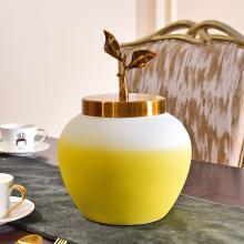 墨菲景德鎮手工陶瓷水培花瓶現代簡約輕奢客廳家居裝飾花藝插花器