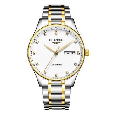 冠琴新款男士手表 全自動機械表男表鏤空簡約時尚潮流名牌手表男