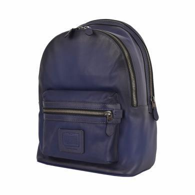 【支持購物卡】coach蔻馳 現代時尚通勤男士皮質雙肩背包 37842JICAD
