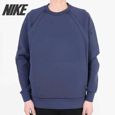 Nike耐克AIR JORDAN男子太空棉加厚套頭衫運動衛衣884026-410
