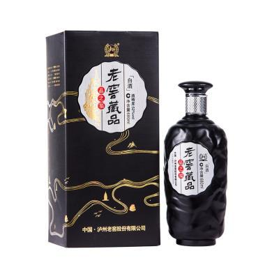 泸州老窖 老窖藏品 品之福 白酒 52度 680ml