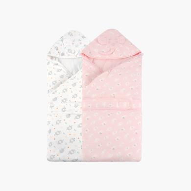 丑丑嬰兒包被初生春秋冬季加厚款新生兒純棉被子外出襁褓寶寶抱被