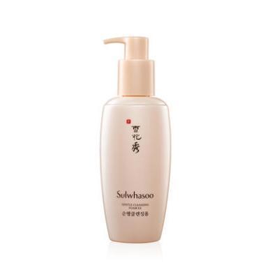 【支持购物卡】韩国SULWHASOO/雪花秀 顺行柔和泡沫洗面奶 200ml