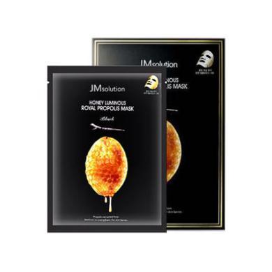 【支持购物卡】【2盒装】韩国 JM 水光蜂蜜面膜贴蜂胶水润滋养透莹清透面膜10片/盒